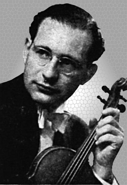 Peter Rybar, Violinist