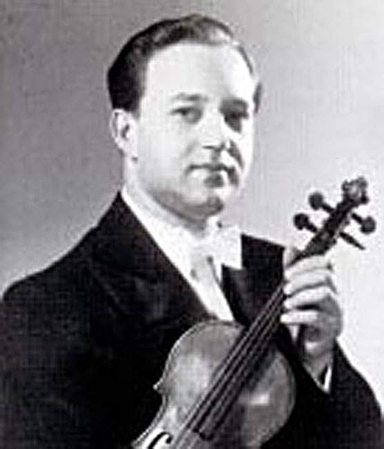 Ricardo Odnoposoff, Violinist