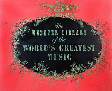 Webster Library Logo on Cover