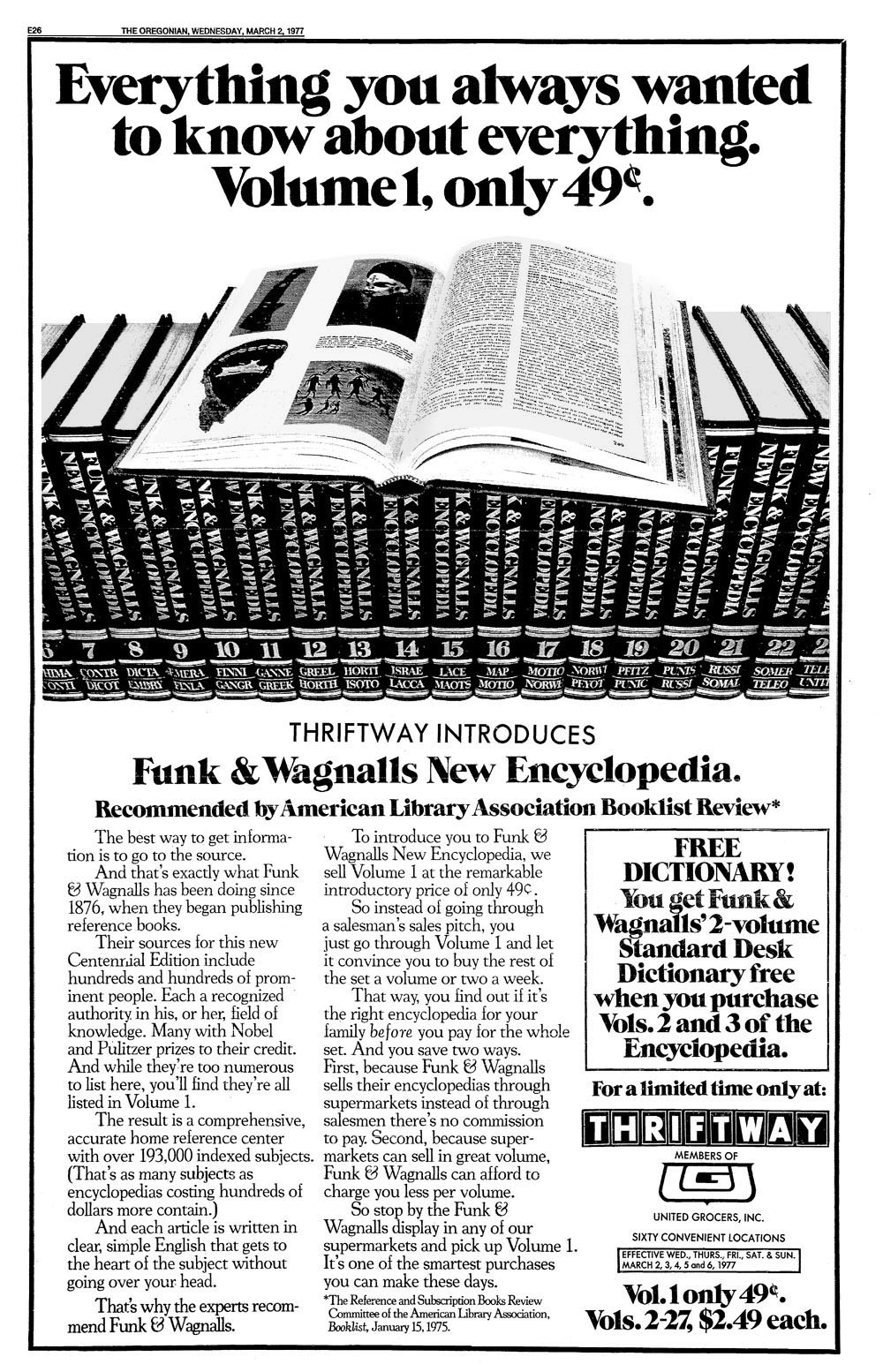 funk and wagnalls encyclopediaB