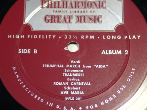 philharmonic library label